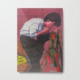 Johnny M. Metal Print