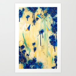 As Depth Drowns In The Shallows (Isolation Of The Alchemist) Art Print