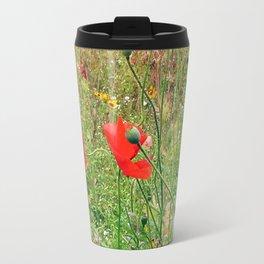 three flowers/Drei Blüten Travel Mug