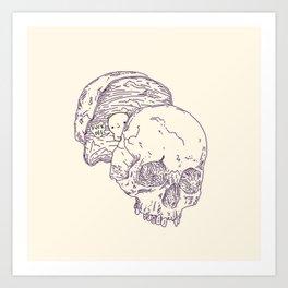 ocupaciones Art Print