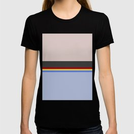 Wesley Crush er - Minimalist Star Trek TNG The Next Generation - 1701 D - startrek - Trektangles T-shirt