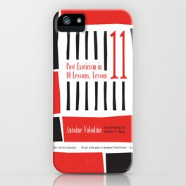 Post-Exoticism in Ten Lessons, Lesson Eleven iPhone Case