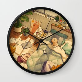 Afternoon Nap Wall Clock