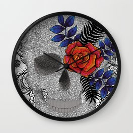 Pupo´s Skull Wall Clock