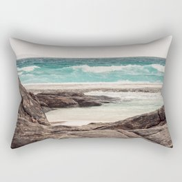 Watching the Waves Roll In Rectangular Pillow