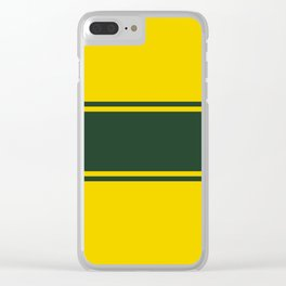 Racing inspired Clear iPhone Case