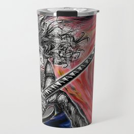Wild Hair Guitar Travel Mug