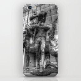 Rugby League Legends statue Wembley stadium iPhone Skin