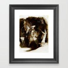 The court of dead Framed Art Print