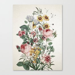 Romantic Garden Canvas Print