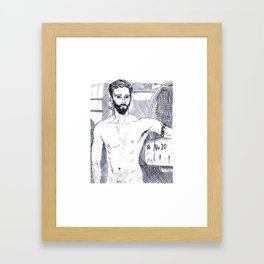 No. 20 Framed Art Print