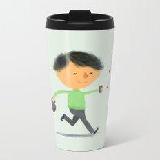 Boy in Love #3 Metal Travel Mug