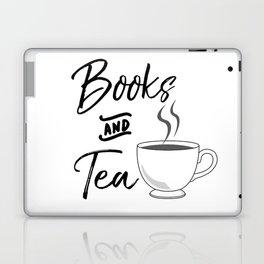 Books & Tea Laptop & iPad Skin