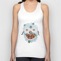 yeti Tank Tops featuring Yeti by Santiago Uceda