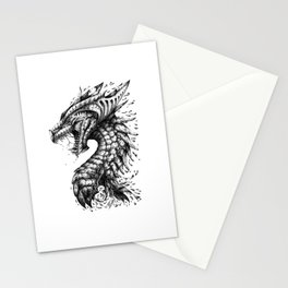 Dragon's Outrage Stationery Cards
