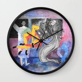 Stranger Collision  Wall Clock