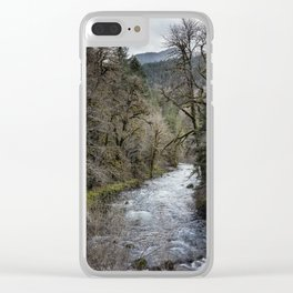 Hackleman Creek No. 2 Clear iPhone Case