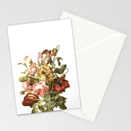 Floral litho Stationery Cards
