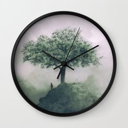 Tree gods Wall Clock