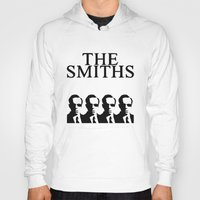 the smiths Hoodies featuring The Smiths by Diego Farias