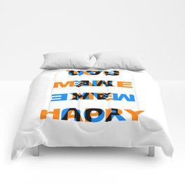 You make me Happy / Sad – reversibel Comforters