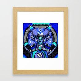 LISHKA BLUE Framed Art Print
