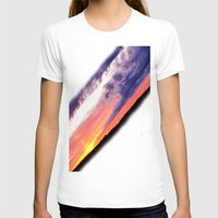 swedish T-shirts featuring Swedish midsummer sky by Ordiraptus