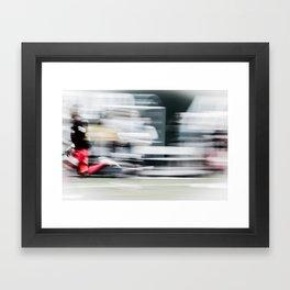 Speed Kills  Framed Art Print