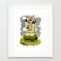 robin hood Framed Art Prints featuring Robin Hood by Reuno