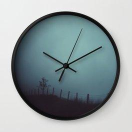 border Wall Clock