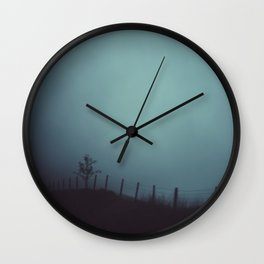 border Wall Clock