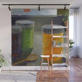 ball mason jars Wall Mural