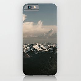Alaska Snow Capped Mountains iPhone Case