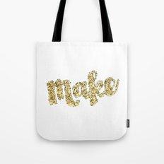 Make Glitter Tote Bag