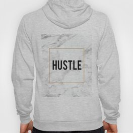 HUSTLE MARBLE DECOR, Hustle Boss,Hustle Art,Hustle Print,Marble Print,Modern Art,Fashion Print,Motiv Hoody