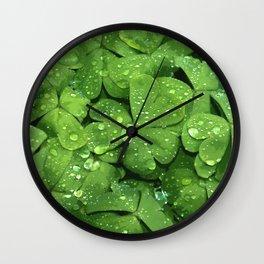 Lucky Enough Wall Clock