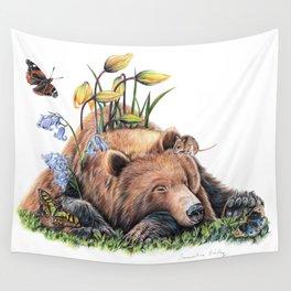Snoozing Wall Tapestry