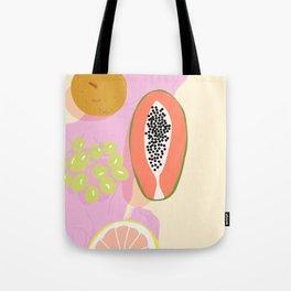 Papaya Picnic Tote Bag