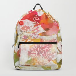 Pomegranate Flowers Backpack