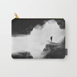 Hello from the The Upside Down World Carry-All Pouch