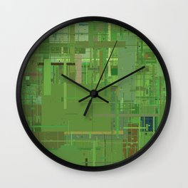 Series 11 - Oxidized Wall Clock