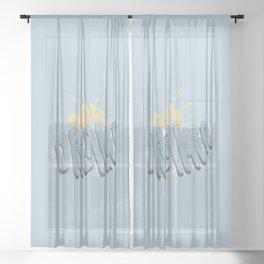 Day Dreamer Sheer Curtain