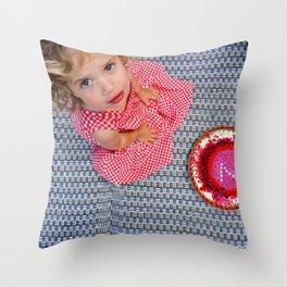 Happy B'day Throw Pillow