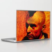 robert farkas Laptop & iPad Skins featuring ROBERT D. by Ganech joe