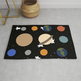 Planets: Pattern Rug