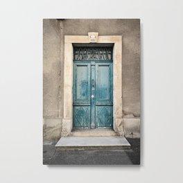 Porte N°372 Metal Print