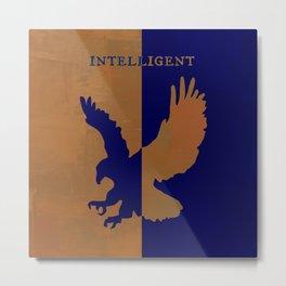 Ravenclaw - Intelligent Metal Print