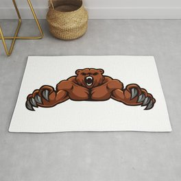 angry, ape, beast, cartoon gorilla, cartoon, gorilla, gorilla cartoon, gorilla strong, king, kong, Rug