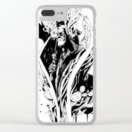 Stoner Warrior Clear iPhone Case