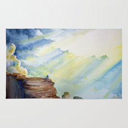 Wanderer Series: Above the Clouds Rug